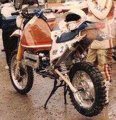 Enduro Vintage, Rallye Raid, Scrambler Motorcycle, Dirt Bikes, Custom Bikes, Cool Bikes, Motocross, Biking, Cars And Motorcycles