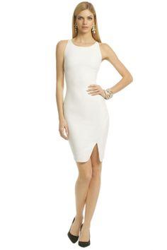 81236533144 Elizabeth and James White Bardot Dress... looks better on the regular  people!