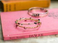 DIY Mixed Metal Wire Bangles | HelloNatural.co