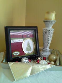 Christmas -- It's a Wrap! : the Virtual Stamp Pad Christmas Shadowbox