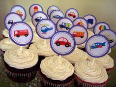 Transportation Theme Boys Birthday Party Ideas
