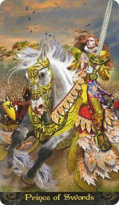 Prince of Swords Name: Tarot Illuminati Creators: Erik C. Dunne Publisher: Lo Scarabeo 2013