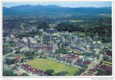 KL aerial view in the 70s.