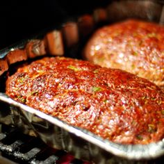 Barbecued Meatloaf - A no-fuss, hearty meatloaf that is quick and easy to make.