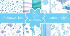 Welcome to RasvetaDigital store!  Perfect for scrapbooking invitations shop banners collages announcement and greeting cards blog or website background small gifts wrap craft projects and many others. (Youre creative right?) This package includes:  3 ZIP 10 high resolution JPEG images (300 dpi) also include 7 seamless patterns. 5000х5000 px  License Copyright When you purchase the item from RasvetaDigital you agree to the non-exclusive limited license to use which allows for per...