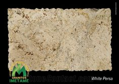 White Persa Granite Slabs & Tiles