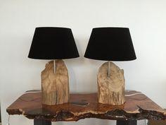 Table lamp set of 2 pieces por GBHNatureArt en Etsy