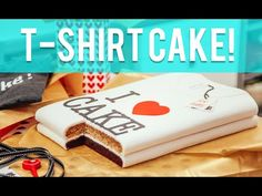 How To Cake... A T-SHIRT CAKE! Stacked chocolate and banana cakes covered in fondant! #Baking #Dessert