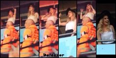A little blurry but Perrie at the boys concert