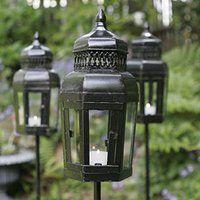 Lanterns for the backyard