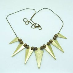 Fashion Popular Metal Triangle Long Necklace
