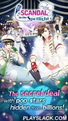 """Scandal In The Spotlight  Android App - playslack.com ,  Read the Prologue and Episode 1 for each character for free!◆Story◆Japan's hottest boy band!Five members perform, but the sixth--the lyricist--never shows his face.However, his sudden disappearance has forced YOU to take his place!""""We're not letting you go, Little Miss Ghostwriter.""""You're about to embark on a life of deception and glamour alongside national pop stars!■A dramatic love storyYou signed a contract with them, and now you're…"""