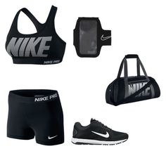 """Breakin a sweat"" by naa722 ❤ liked on Polyvore featuring NIKE"