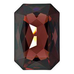 4627 27x18.5mm Burgundy Swarovski Crystal Octagon Shaped Stone