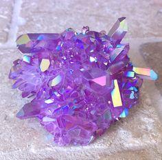 Purple Galaxy Aura Quarz 2