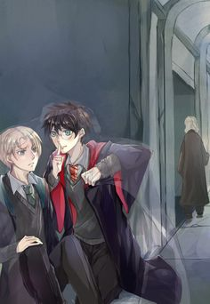 Yaoi Pictures book 2 - Harry x Draco Harry Potter Fan Art, Harry Potter Comics, Harry Potter Ships, James Potter, Harry Potter Universal, Harry Potter Fandom, Harry Potter World, Harry Potter Memes, Drarry Fanart