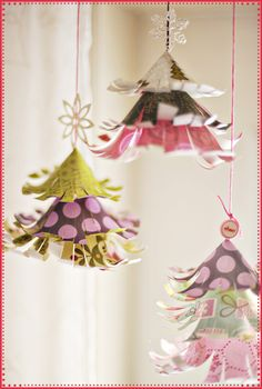 Hanging Paper Trees as seen on: The Ki Blog