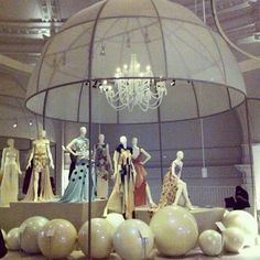 Ballgowns at the V & A museum - lovely Frocks.