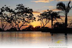 Un sin fin de atardeceres, cada vez más hermosos. www.haciendapinilla.com