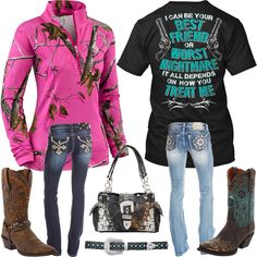 Best Friend or Worst Nightmare Camo Outfits - Real Country Ladies