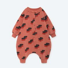 The Animals Observatory - Sheep Babies Suit (Deep Orange Finch School Red)…