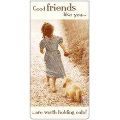 Magnetische boekenlegger: Good friends like you... (Betsy Cameron)