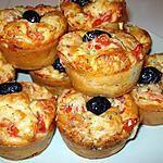 recette Muffins salé façon pizza