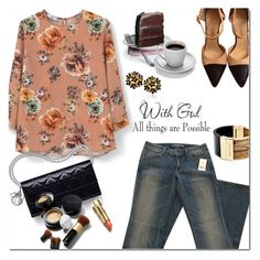 """""""Morning outfit !!"""" by huda-alalawi ❤ liked on Polyvore featuring MANGO, Vince, Chanel, Martha Stewart, Elizabeth Arden, Michael Kors, women's clothing, women, female and woman"""