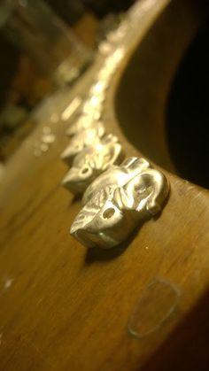 beyforart: Elefanten Kolonne aus Silber 925  genaueres demnäc...