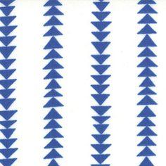 Flying Stripe Marine Blue from the Quilt Blocks fabric collection designed by Ellen Luckett Baker for Moda.
