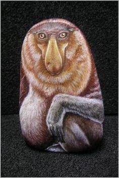 NOS PETITS FRERES LES ANIMAUX: Peintures d'animaux sur galets