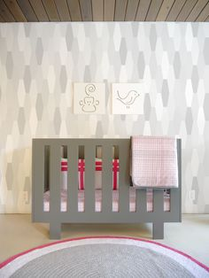 Is a modern nursery in your future? Here's the crib for you.