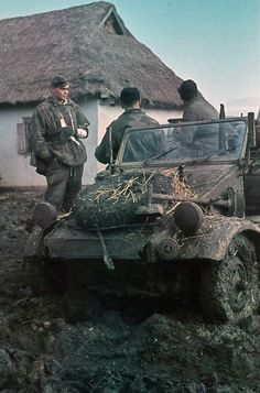 Eastern front, kubelwagen, pin by Paolo Marzioli