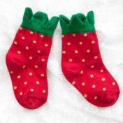 hansel from basel strawberry sock