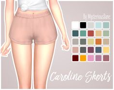 "mysteriousdane: "" Caroline Shorts Just a quick little edit of the shorts that came with Parenthood! Removed the shorts under these, made them shorter and higher waisted! If you just want the normal..."