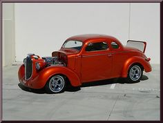 1938 Plymouth, Other models  Classic Car Marketing, Inc. Southern California's premier marketing company is pleased to introduce this new listing offered for sale by one of our clients. This 1938 Plymouth P6 with factory rumble seat is just 1 of only 2000 ever built and is a proven show winner for 2015. Frame off restoration with all steel body and fenders and two inch chop make this a sight to behold. What a stunning cool custom creation. 1957 392 Hemi, Turbo 350 with B&M quick shif..