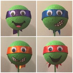 Raphael, Donatello, Michelangelo, and Leonardo. Pirate Halloween Costumes, Couple Halloween Costumes For Adults, Teen Costumes, Woman Costumes, Couple Costumes, Group Costumes, 3rd Birthday Party For Boy, Ninja Turtle Pumpkin, Ninga Turtles
