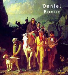 George Bingham painting of Daniel Boone bringing settlers into Kentucky through the Cumberland Gap Treaty Of Paris, Cumberland Gap, Tennessee Map, Lake Pontchartrain, Memories Faded, Seven Years' War, Into The West, West Florida