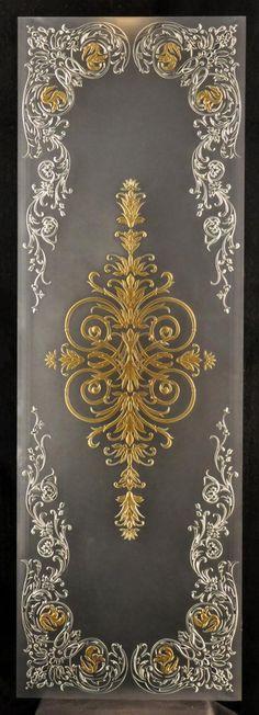 Витражи в классическом стиле для дверей – изготовление витражей | Студия художественного стекла Алексея Жогина