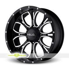 Helo HE879 Black Wheels For Sale - For more info: http://www.wheelhero.com/customwheels/Helo/HE879-Black