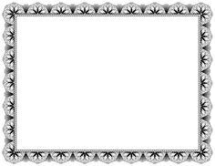 Actividades para la animación lectora: Bordes para certificados.
