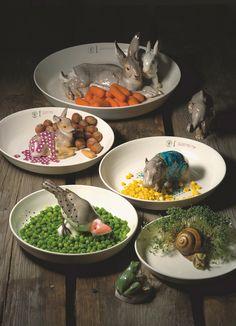 Animal bowls - Hella Jongerius - NYMPHENBURG (2004)