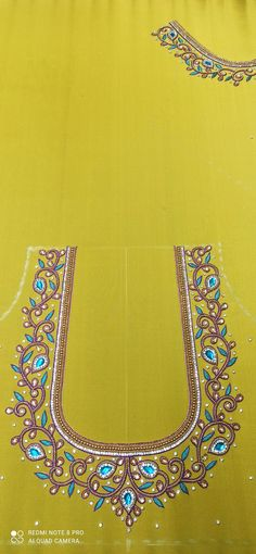 Cutwork Blouse Designs, Patch Work Blouse Designs, Kids Blouse Designs, Maggam Work Designs, Hand Work Blouse Design, Hand Designs, Flower Designs, Handmade Embroidery Designs, Bead Embroidery Tutorial