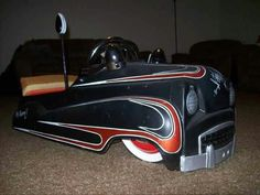 Made by Austin of England, the first pedal car produced by the Austin Car Company and made in 1949 only.