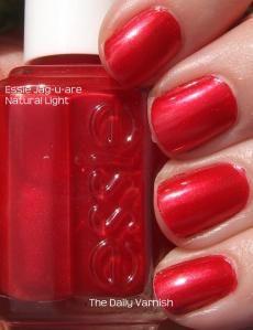 Essie - Jag-u-are    #essie #red