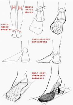 Drawing Tips Human Body Drawing Tutorial, Sketches Tutorial, Feet Drawing, Drawing Poses, Anatomy Drawing, Anatomy Art, Figure Drawing Reference, Art Reference Poses, Drawing Lessons