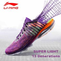 Steady Li-ning Mens Cloud Iv Professional Running Shoes Cushion Breathable Lining Sneakers Reflective Sports Shoes Arhm025 Sneakers