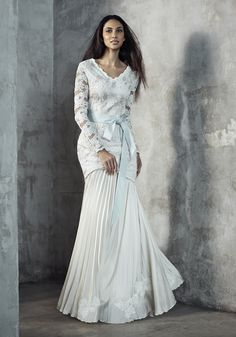 Baju Pengantin Terkini & Baju Akad Nikah Modern 2015 | Melinda Looi's Official Blog