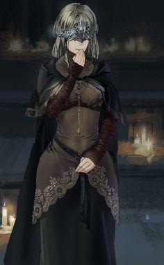 Firekeeper - Dark Souls 3 by Joshtffx on DeviantArt Dark Fantasy, Fantasy Girl, Character Inspiration, Character Art, Character Design, Fantasy Characters, Female Characters, Dark Souls Fire Keeper, Soul Saga