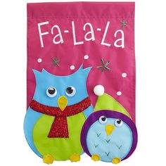 Pier 1 Holiday Owl Garden Flag.  I need this for my grade 1&2 classroom door! Pier 1 here I come!